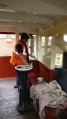 Matt paint the cream gloss