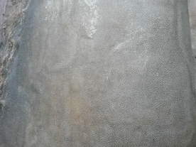 Light Grey layer embossed with Double Arrow